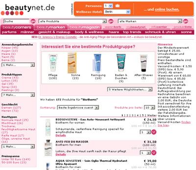 Biotherm bei Beautynet.de - Alle Produkte von Biotherm