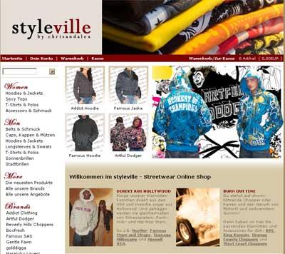Styleville - der Streetwear Shop