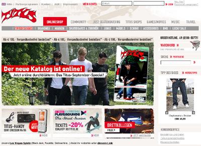 Der Titus Online-Shop: Paradies für Skater!